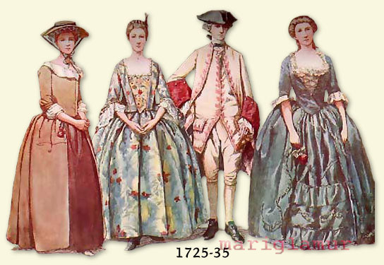 silkgown1725-1735-suit1740-gown1740
